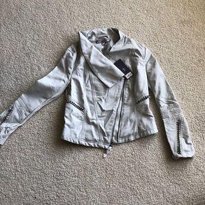 NWT Jennifer Lopez Faux Leather Jacket